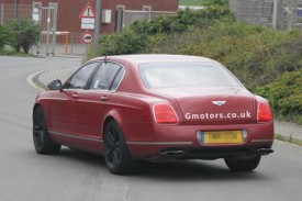Bentley Continental Flying Spur V8 Mule Spied For The First Time