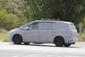 New 2013 Citroen C4 Grand Picasso 7-seater Spied