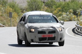 2013 Dacia Logan Spied Hot Weather Testing In Southern Europe