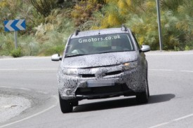 2013 Dacia Sandero Spied Hot Weather Testing In Southern Europe