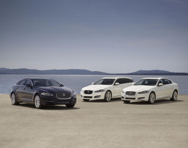 2013 Jaguar XJ, XF Sportbrake and XF