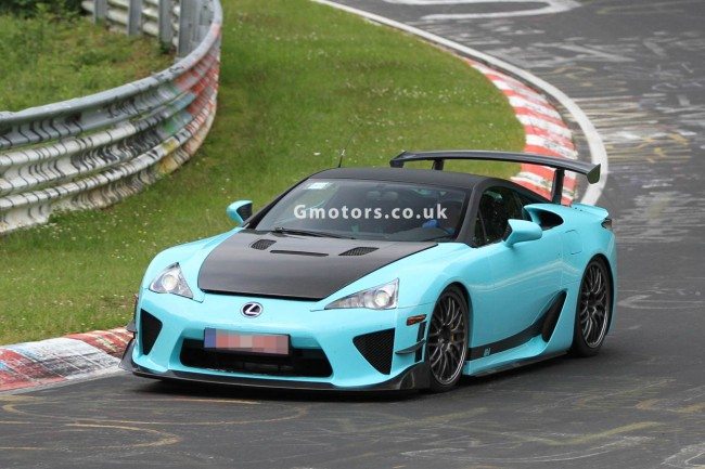 Lexus LFA &#8220;Special Edition?&#8221; Prototype Spied On The &#8216;Ring