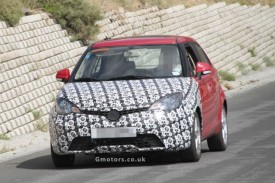 2013 MG3 Supermini Spied Testing In Spain