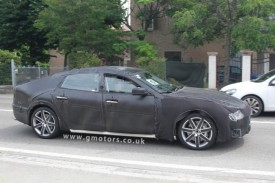 New Maserati Quattroporte Spied Less Disguised
