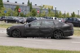 2013 Maserati Quattroporte Spied Again, Reveals More Of Its Rear