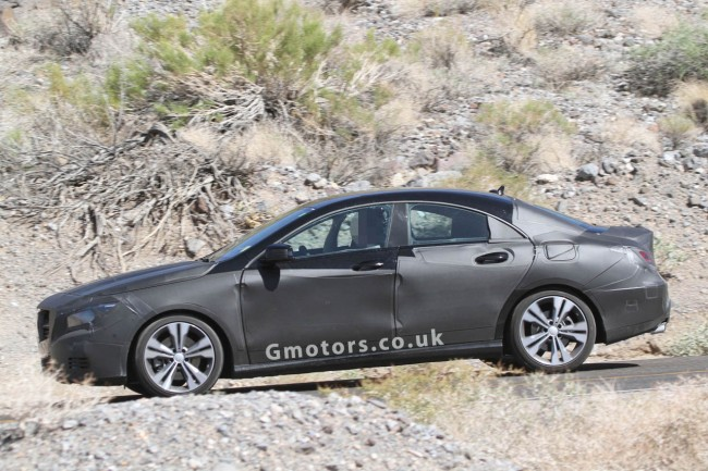 2013 Mercedes-Benz CLA Spied Again, Plus Interior Shots