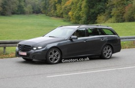 2013 Mercedes-Benz E-Class Estate Facelift Spied Less Disguised