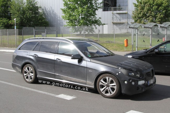 2013 Mercedes-Benz E-Class Estate Facelift Spy Photos