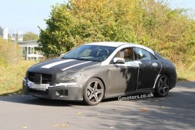 2013 Mercedes CLA 45 AMG Spied With Less Disguise