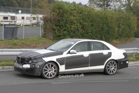 2013 Mercedes-Benz E63 AMG Facelift Spied For The First Time