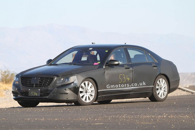 Spy Shots: 2013 Mercedes-Benz S-Class Reveals More Of Its Front
