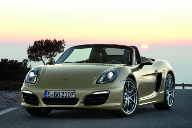 New Porsche Boxster Arrives in Porsche Centres, Priced From £37,589