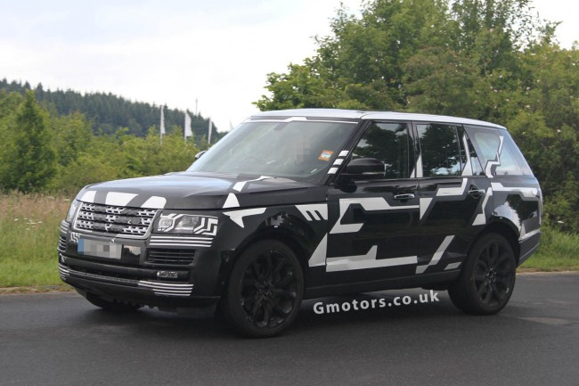 2013 Range Rover Spied Inside Out With Less Disguise