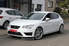 New Seat Leon Cupra Prototype Spotted Near the Nürburgring