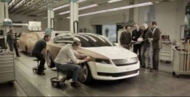 New Skoda Octavia Video Teaser