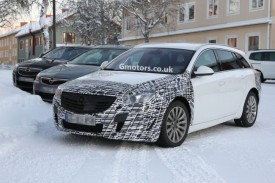 2013 Vauxhall Insignia Facelift Spied With Undisguised Interior