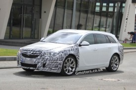 Vauxhall Insignia VXR Sports Tourer Facelift Spied