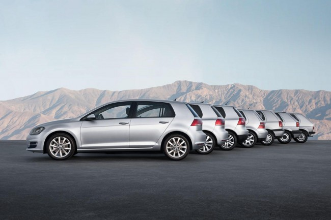 New Volkswagen Golf Mk7 Revealed [VIDEO]