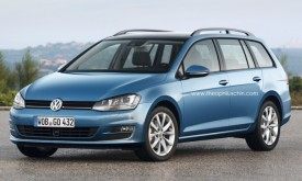 New Volkswagen Golf Variant Rendered