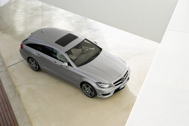 Mercedes-Benz CLS 63 AMG Shooting Brake Revealed [VIDEO]