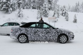 2014 Audi A3/S3 Cabriolet Spied For the First Time