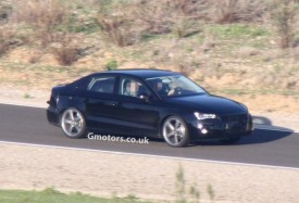 2014 Audi A3 Saloon Prototype Spied for the First Time