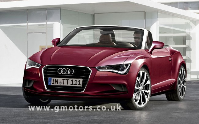 2014 Audi TT Roadster rendering by Automedia