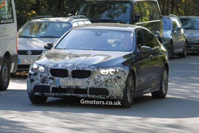 2014 BMW 5 Series Facelift Caught For The First Time