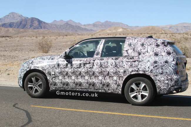 All-new BMW X5 Spied With Less Disguised Front