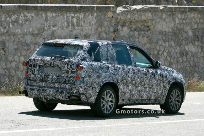 2014 BMW X5 side profile
