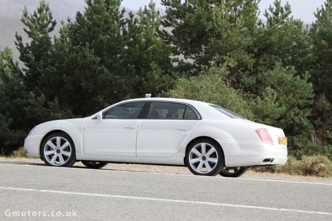 2014 Bentley Continental Flying Spur – New Spy Shots