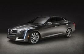 New Cadillac CTS debuts at the New York Auto Show