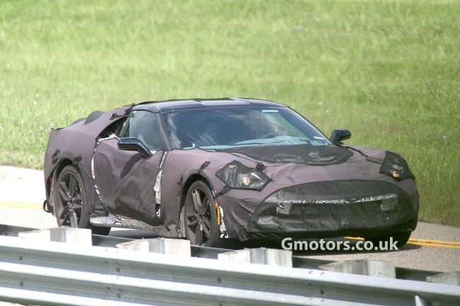 New Chevrolet Corvette C7 Spy Shots