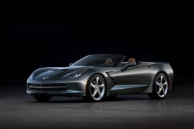 2014 Chevrolet Corvette Stingray Convertible &#8211; First Official Pictures