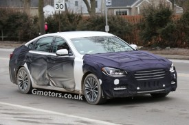 2014 Hyundai Genesis Interior Caught Undisguised