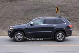 2014 Jeep Grand Cherokee Facelift Spied Undisguised
