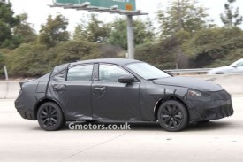 New Lexus IS Spotted For The First Time