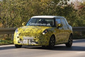 2014 MINI 5-door Spied for the First Time – Is This the Traveller?