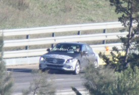 2014 Mercedes C-Class Caught Less Disguised in Spain