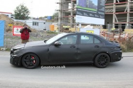 2014 Mercedes-Benz C63 AMG Full Body Prototype Spied For The First Time