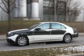 New Mercedes-Benz S-Class Caught With Very Little Disguise