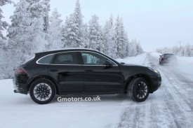 Porsche Macan Spied Winter Testing at the Arctic Circle