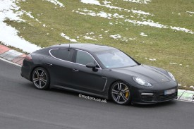 2014 Porsche Panamera Facelift caught nearly undisguised at the Nrburgring