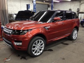 2014 Range Rover Sport – First Real Life Photos Surface Ahead of Official Debut