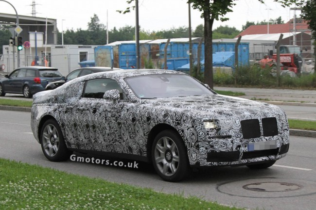 Rolls-Royce Ghost Coupe Spied For The First Time