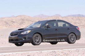 2014 Subaru WRX Mule Spied Hot Weather Testing In Death Valley