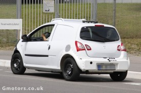 2014 Smart ForFour / Renault Twingo Chassis Test Mule Spied