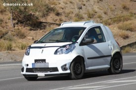 2014 Smart ForTwo Chassis Test Mule Spied