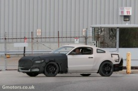 2015 Ford Mustang Test Mule Spied With a New Front