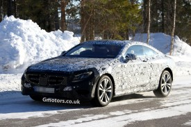 All-New Mercedes S-Class Coupe Caught Winter Testing in Sweden